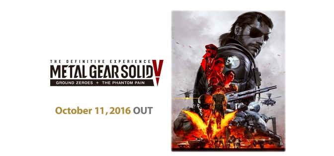 'MGSV: The Definitive Experience' Finally Confirmed, Detailed By Konami