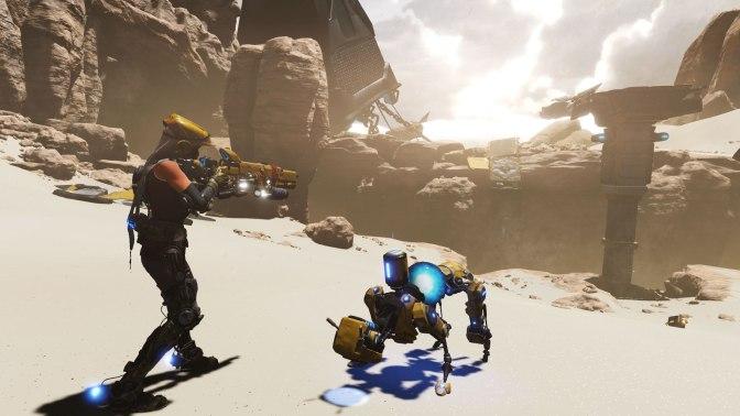 New 'ReCore' Gameplay Trailer Shown At Gamescom 2016