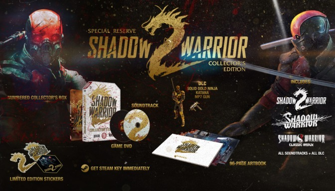 'Shadow Warrior 2: Special Reserve' Edition Announced