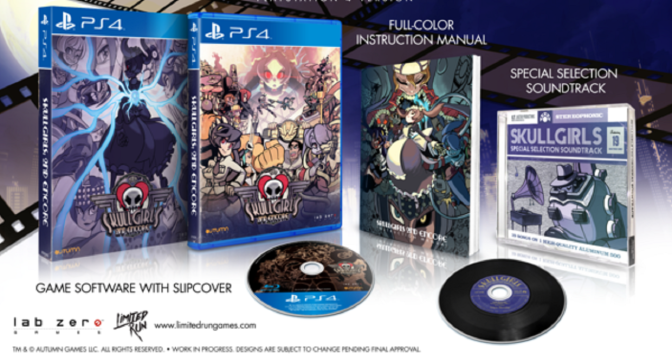 'Skullgirls' Physical Sony Editions Available To Pre-Order