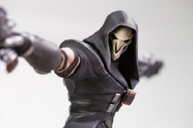 """'Overwatch' """"Reaper"""" Statue Coming Next Year"""