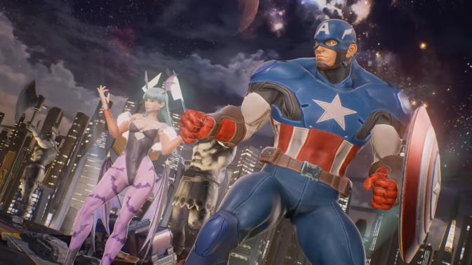 "'Marvel VS Capcom: Infinite' Extended Trailer Confirms ""Morrigan"" And ""Captain America"""