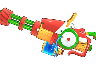 peach-beach-splash-gatling-gun-lvl-2