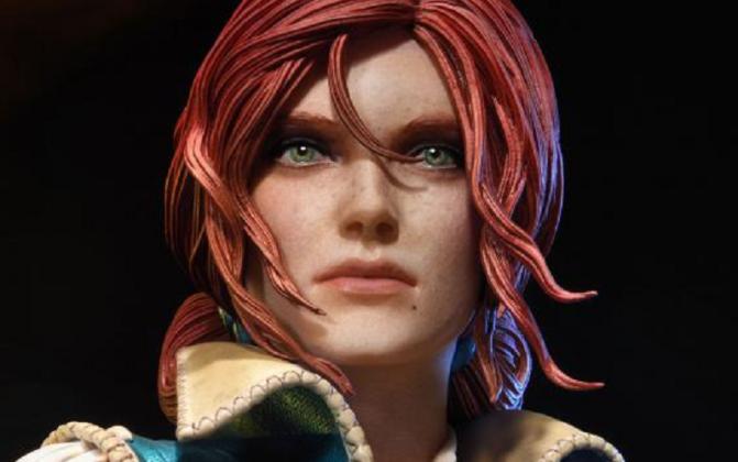 "'The Witcher 3' ""Triss Merigold"" Statue Announced By Prime 1 Studio"