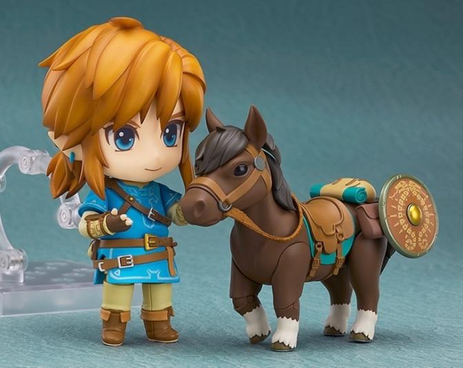 'Zelda: Breath Of The Wild' Nendoroid Figures Coming This June