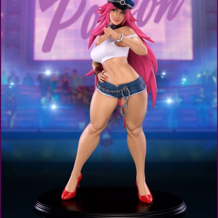 pcs-final-fight-street-fighter-poison-statue-mad-gear-face-5