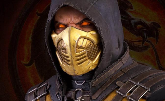 "'Mortal Kombat' Life-Size ""Scorpion"" Bust Coming Early 2018"