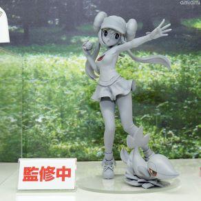 kotobukiya-artfx-series-pokemon-mei-and-snivy-statue-prototype