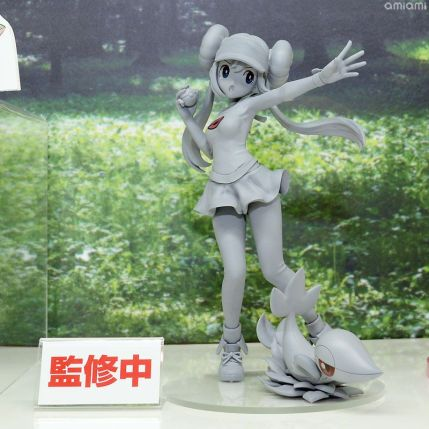 kotobukiya-artfx-series-pokemon-mei-and-snivy-statue-prototype