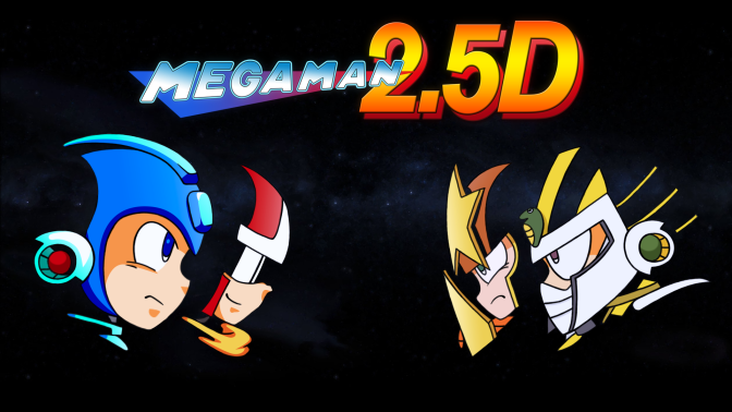 'Mega Man 2.5D' Free Fan-Game Finally Releases For PC