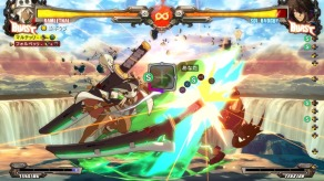 Guilty Gear Xrd REV2 Combo Mode
