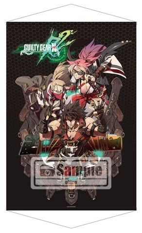 Guilty Gear Xrd REV2 Famitsu DX Pack - Large Tapestry Poster