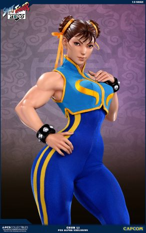 PCS Street Fighter Chun-Li Alpha - Photo 1