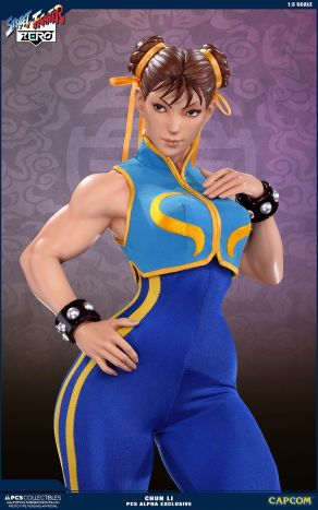PCS Street Fighter Chun-Li Alpha - Photo 2