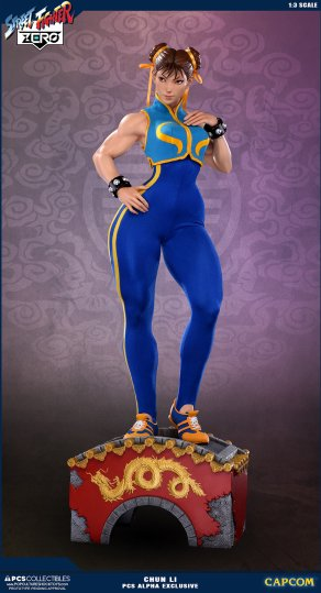PCS Street Fighter Chun-Li Alpha - Photo 4
