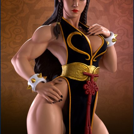PCS Street Fighter Chun-Li Battle Dress - Photo 1