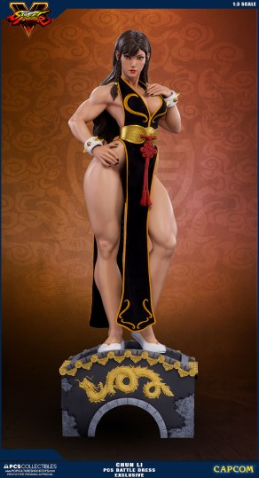 PCS Street Fighter Chun-Li Battle Dress - Photo 10
