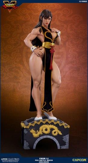 PCS Street Fighter Chun-Li Battle Dress - Photo 11