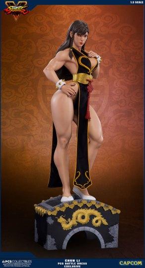 PCS Street Fighter Chun-Li Battle Dress - Photo 12