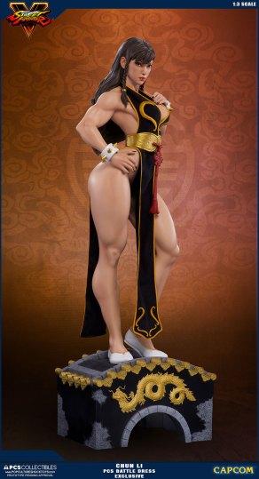 PCS Street Fighter Chun-Li Battle Dress - Photo 13