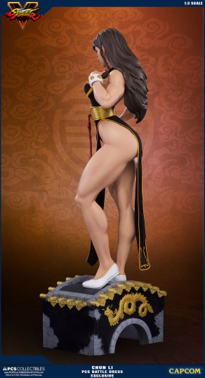 PCS Street Fighter Chun-Li Battle Dress - Photo 17