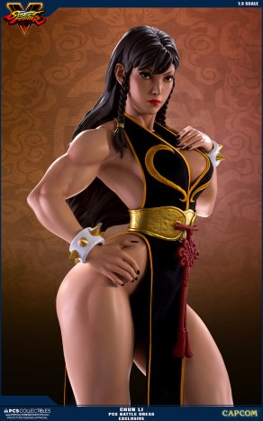 PCS Street Fighter Chun-Li Battle Dress - Photo 2