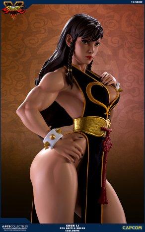 PCS Street Fighter Chun-Li Battle Dress - Photo 3