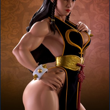 PCS Street Fighter Chun-Li Battle Dress - Photo 3
