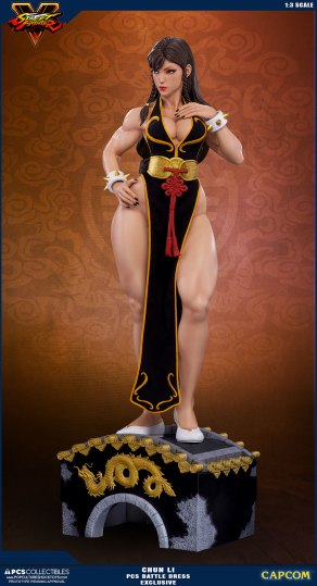 PCS Street Fighter Chun-Li Battle Dress - Photo 7