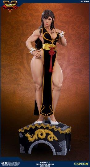 PCS Street Fighter Chun-Li Battle Dress - Photo 9
