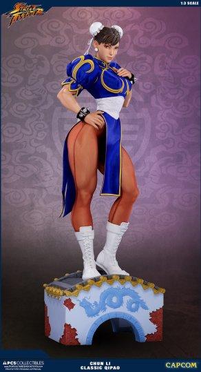 PCS Street Fighter Chun-Li Classic Qipao Statue - Photo 10