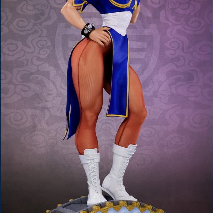 PCS Street Fighter Chun-Li Classic Qipao Statue - Photo 10
