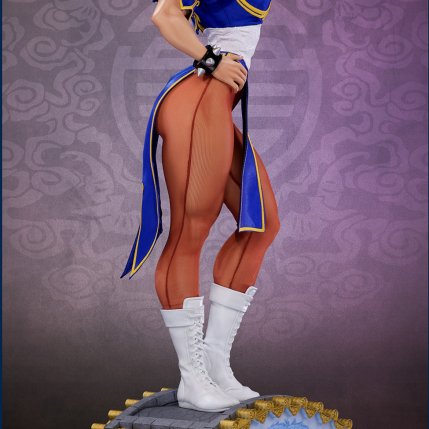 PCS Street Fighter Chun-Li Classic Qipao Statue - Photo 11
