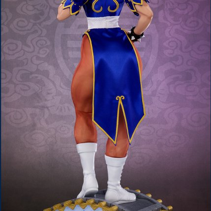 PCS Street Fighter Chun-Li Classic Qipao Statue - Photo 12