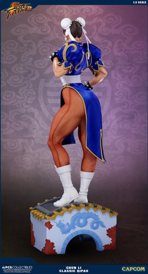 PCS Street Fighter Chun-Li Classic Qipao Statue - Photo 13