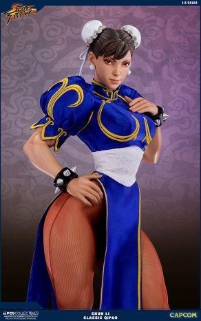 PCS Street Fighter Chun-Li Classic Qipao Statue - Photo 2
