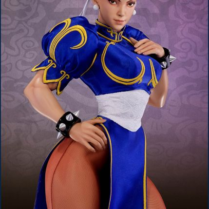PCS Street Fighter Chun-Li Classic Qipao Statue - Photo 2