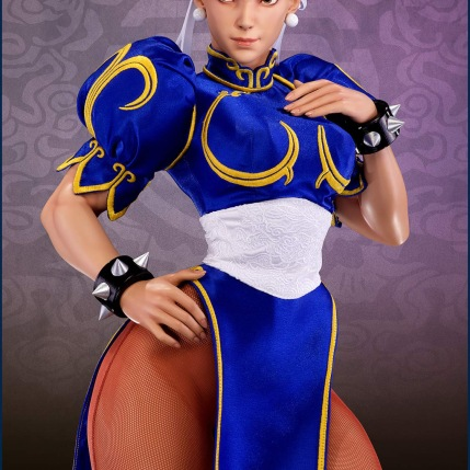 PCS Street Fighter Chun-Li Classic Qipao Statue - Photo 3