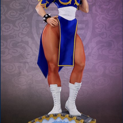 PCS Street Fighter Chun-Li Classic Qipao Statue - Photo 7