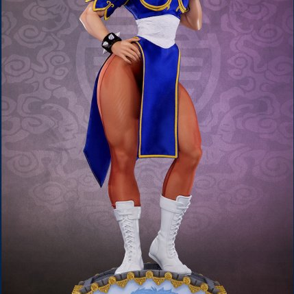 PCS Street Fighter Chun-Li Classic Qipao Statue - Photo 8