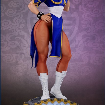 PCS Street Fighter Chun-Li Classic Qipao Statue - Photo 9