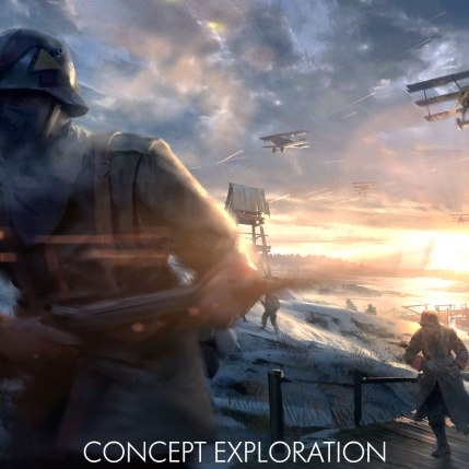 Battlefield 1 In The Name Of The Tsar DLC - Albion Concept