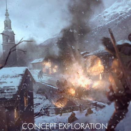 Battlefield 1 In The Name Of The Tsar DLC - Brusilov Keep Concept