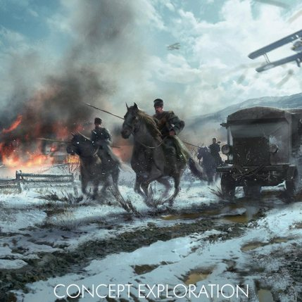 Battlefield 1 In The Name Of The Tsar DLC - Cavalry Concept