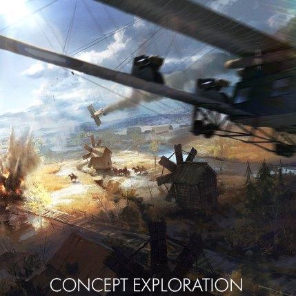 Battlefield 1 In The Name Of The Tsar DLC - Galacia Concept