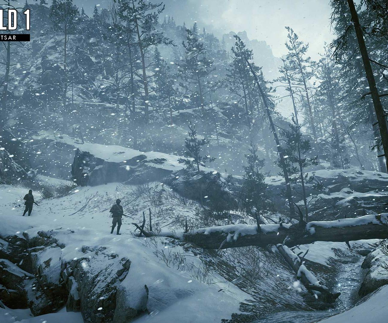 Battlefield 1 In The Name Of The Tsar DLC - Lupkow Pass Concept