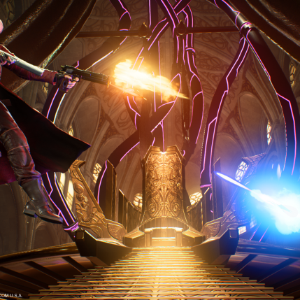 Marvel VS Capcom Infinite E3 2017 - Dante Screenshot 1