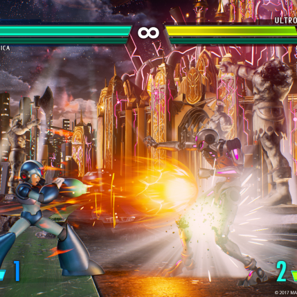 Marvel VS Capcom Infinite E3 2017 - Story Mode Demo Screenshot 1