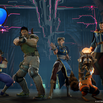 Marvel VS Capcom Infinite E3 2017 - Story Mode Demo Screenshot 2