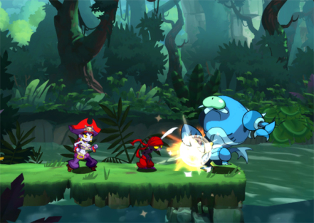 Shantae Half-Genie Hero - Pirate Queen's Quest Screenshot 1